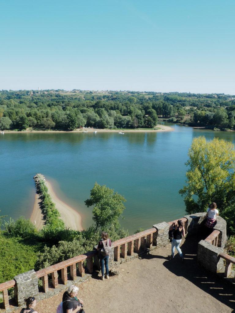 Folies Siffait vue sur la Loire