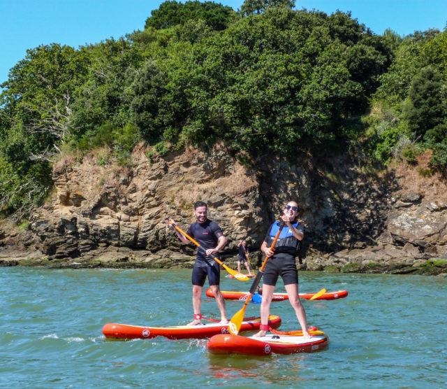 Ecole Line Up – Balade en paddle à Saint-Nazaire