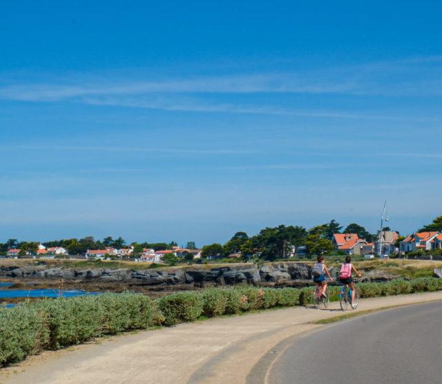 Préfailles – La Pointe Saint-Gildas, coté terre et coté mer