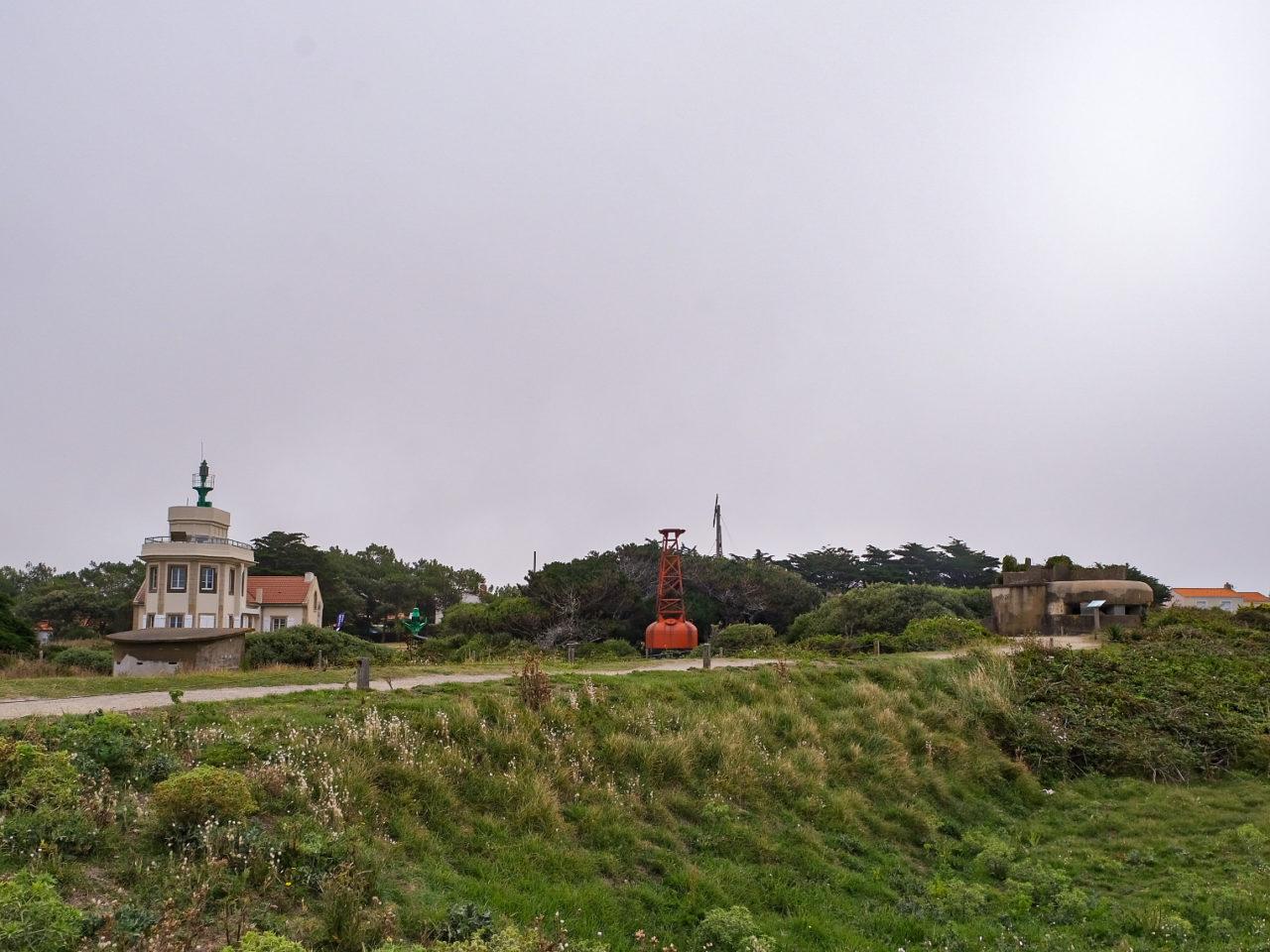 Préfailles Sémaphore Pointe Saint GIldas