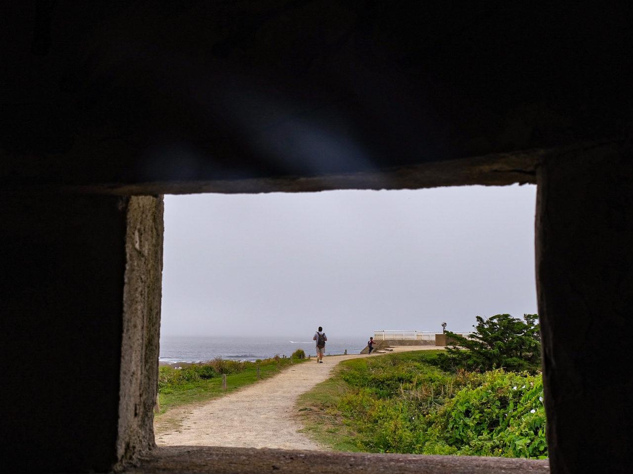 Préfailles sentier cotier Pointe Saint Gildas