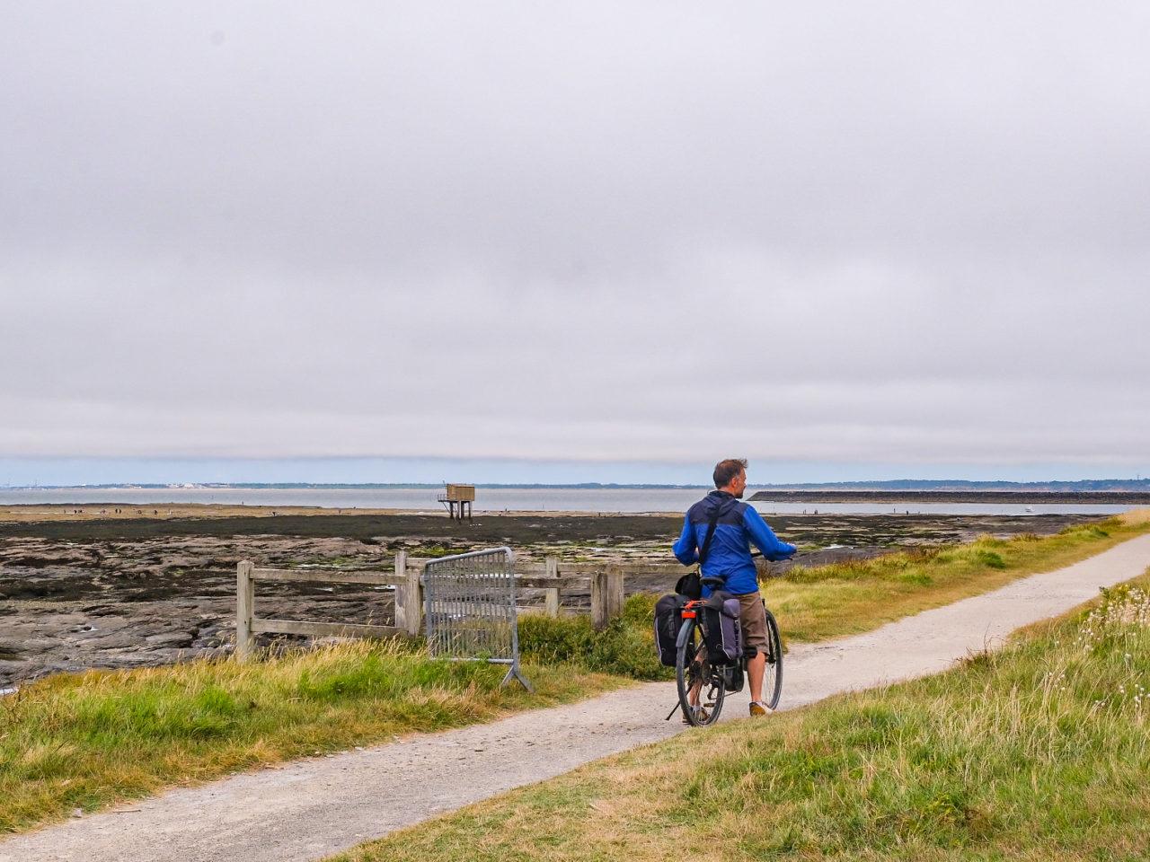 Vélo sur Sentier cotier