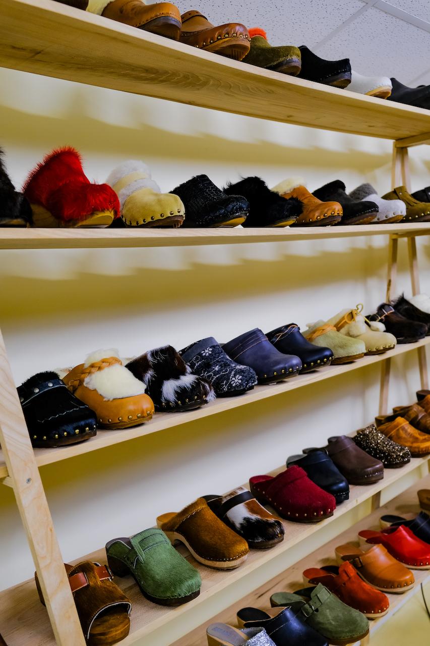 présentation chaussure