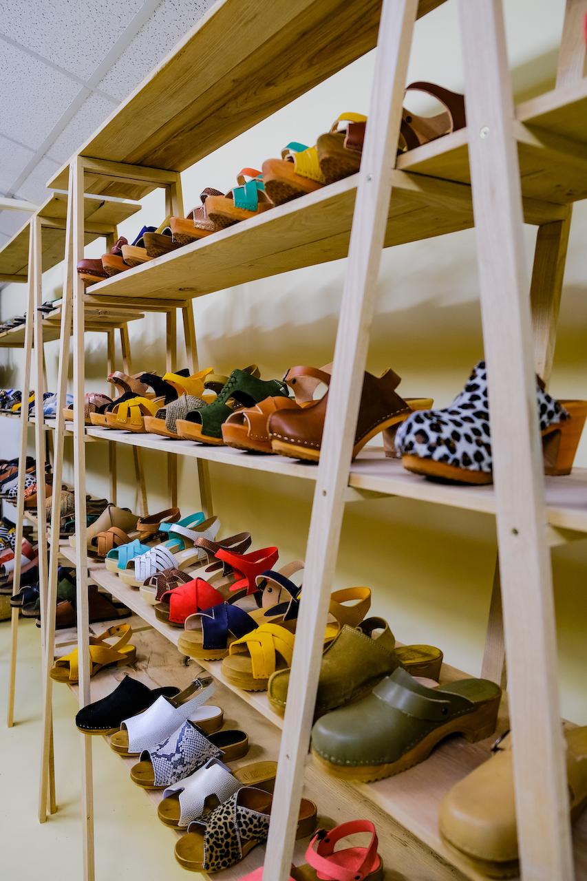 Présentation chaussures