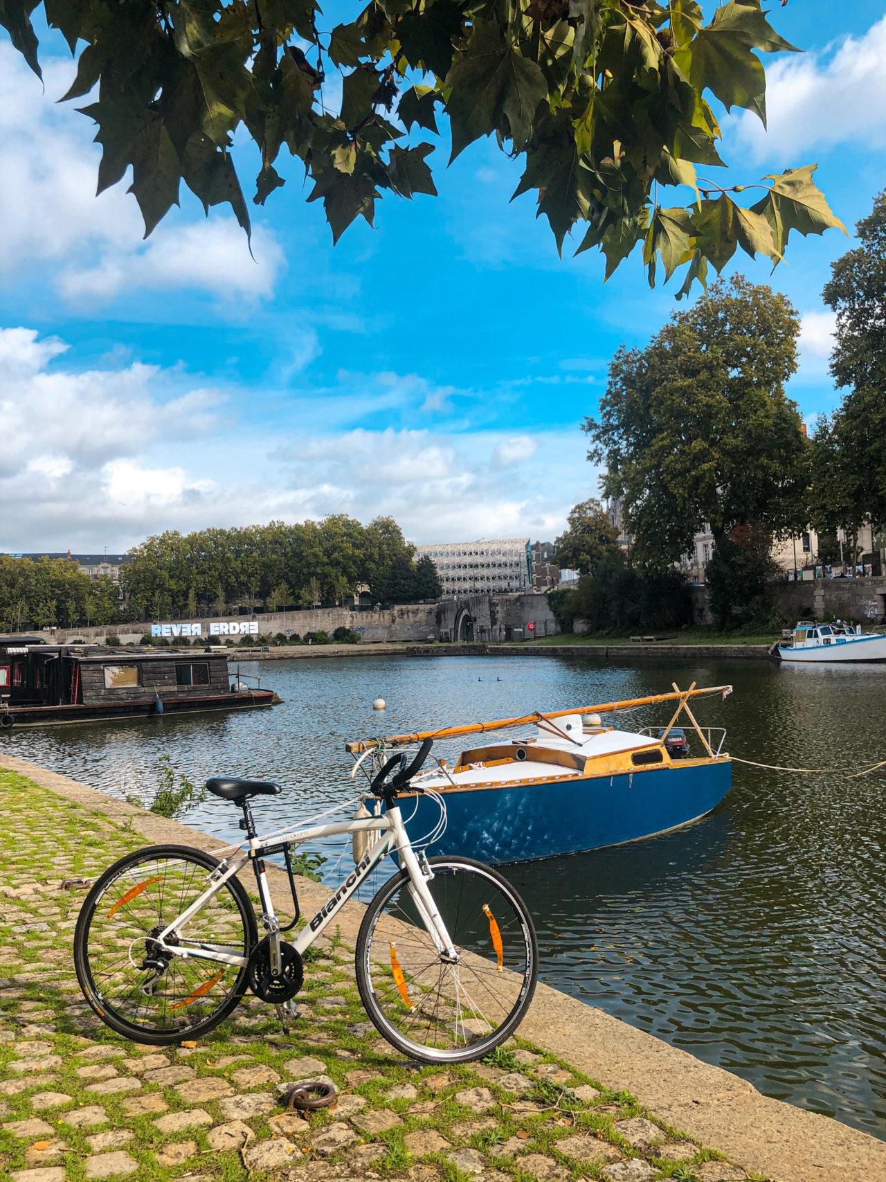 Vélo à Nantes