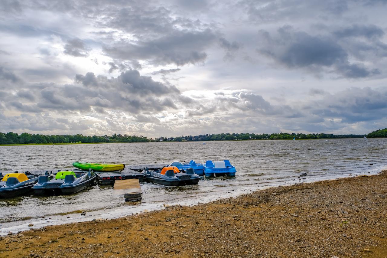 Pédalos Lac de Vioreau