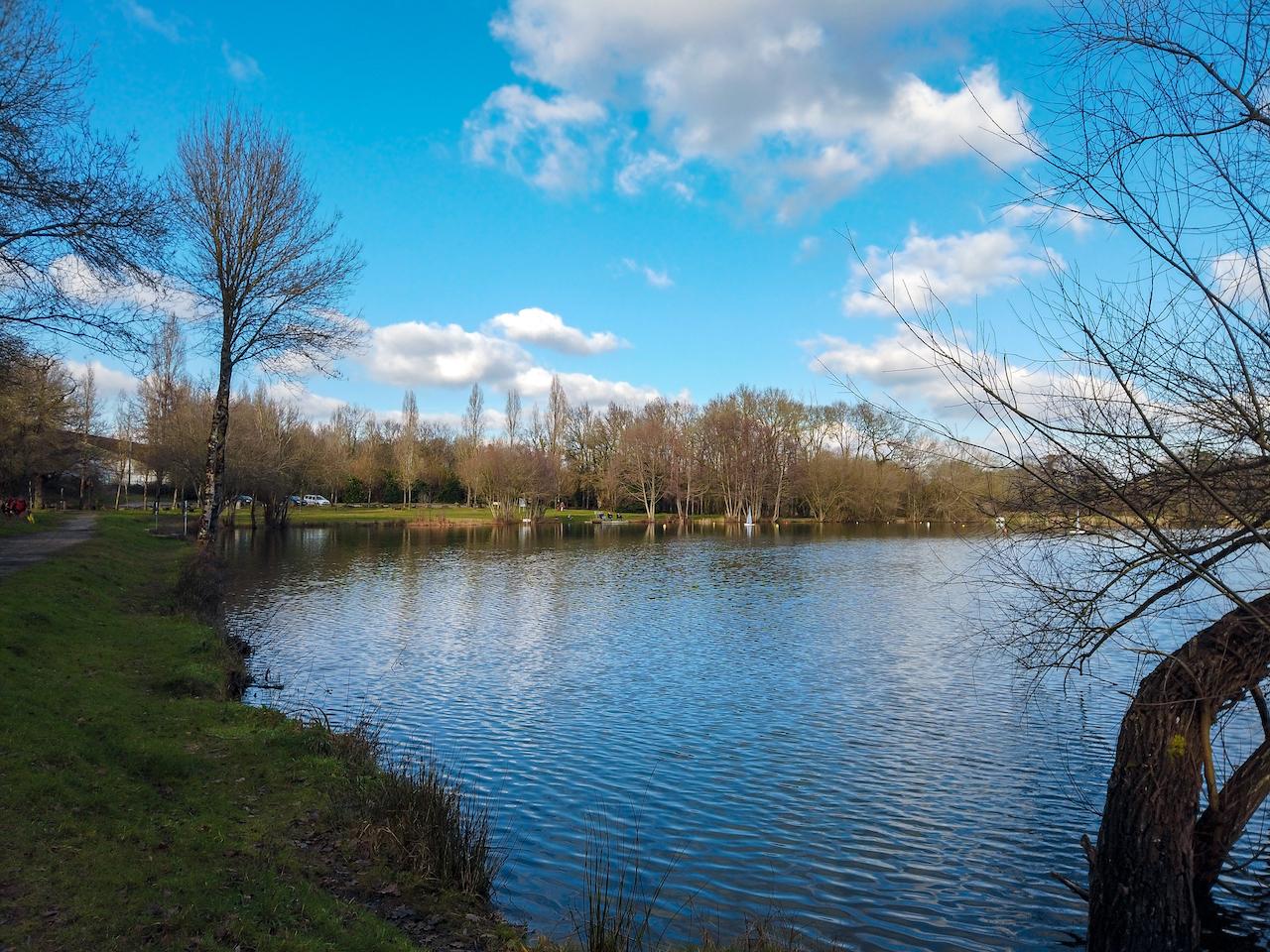 balade plan d'eau du Plessis, Sainte Luce sur Loire