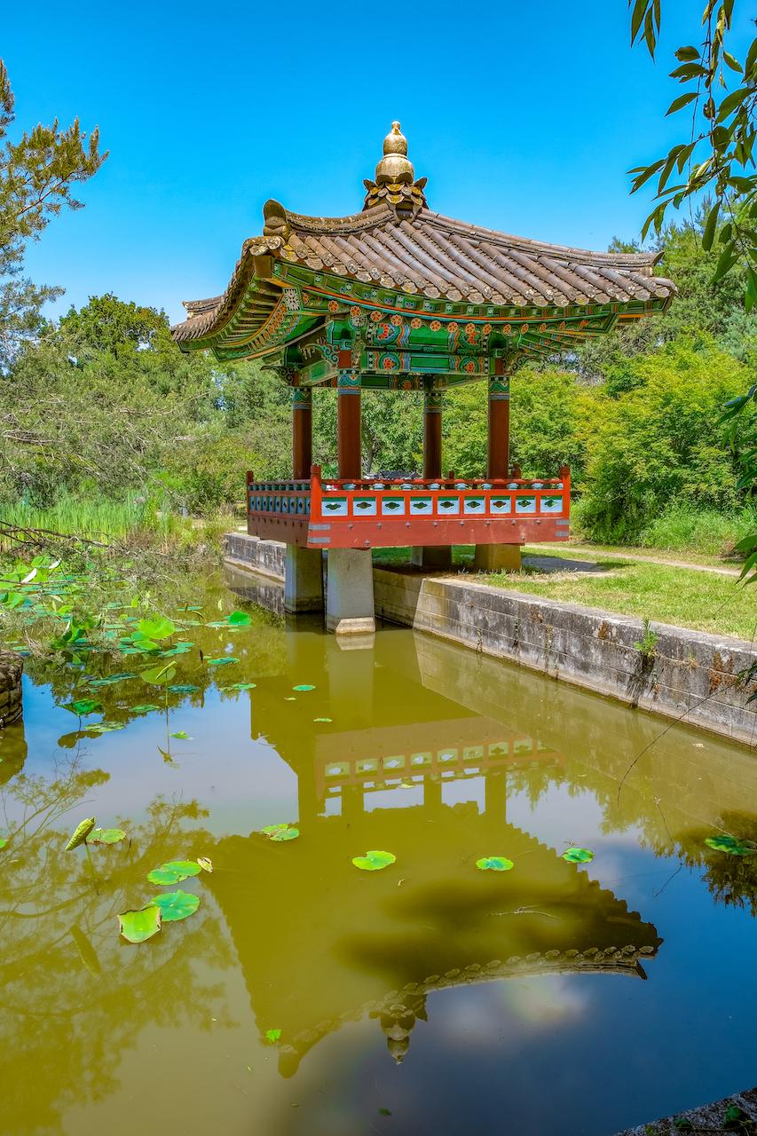 Lieux insolites Nantes Jardin Coréen