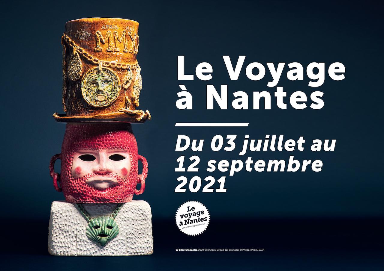 Le Voyage à Nantes 2021 Affiche