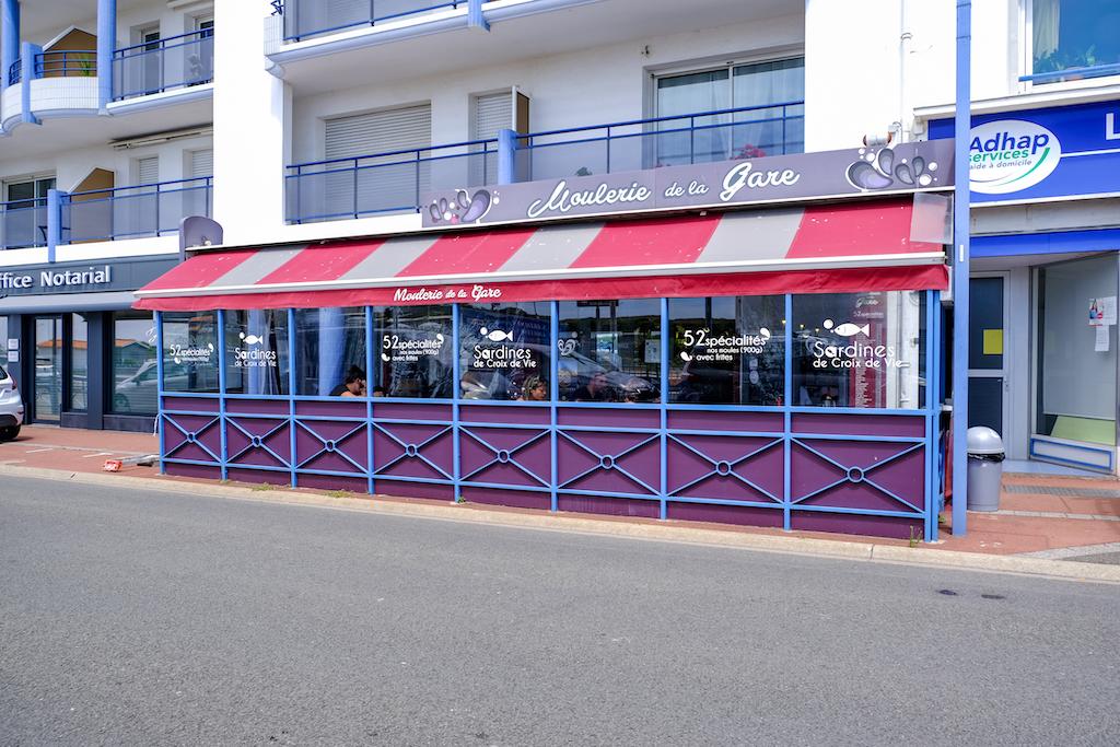 La Moulerie de la Gare Saint-Gilles-Croix-de-Vie