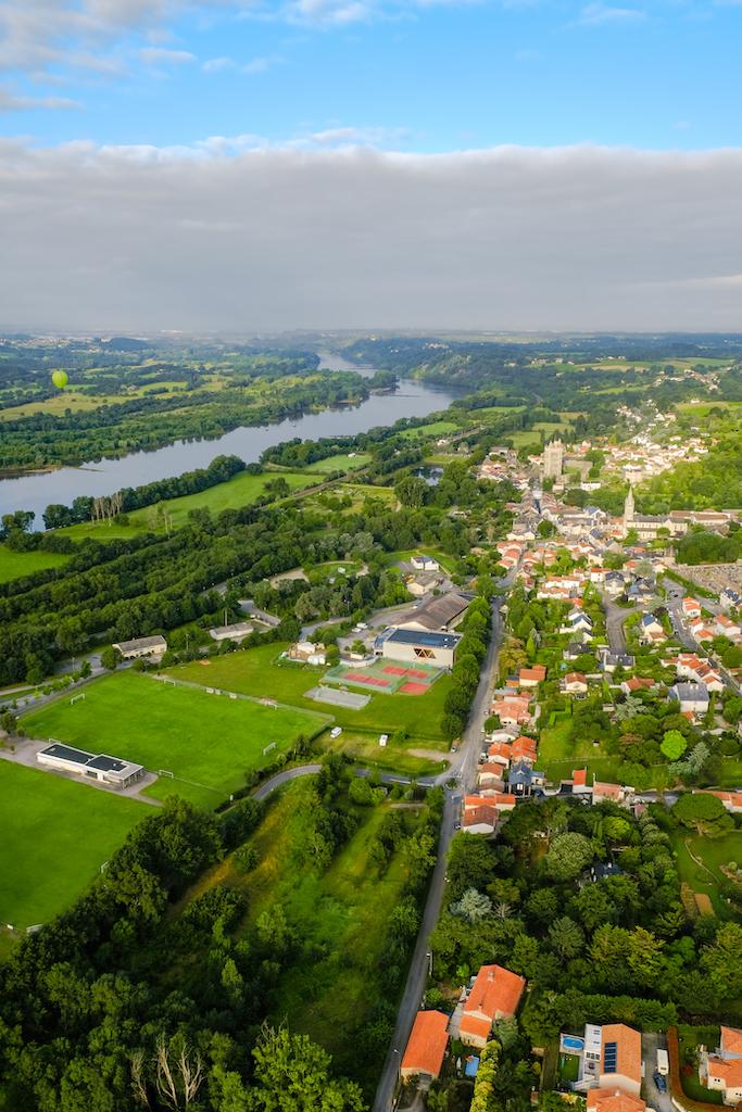 vol montgolfière Loire Atlantique