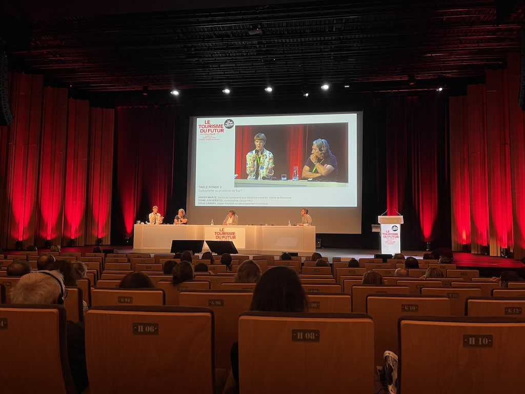 Conférence tourisme cité des congrès de Nantes